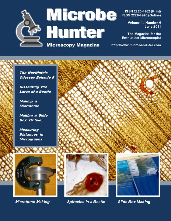 Microbehunter Microscope Magazine Cover