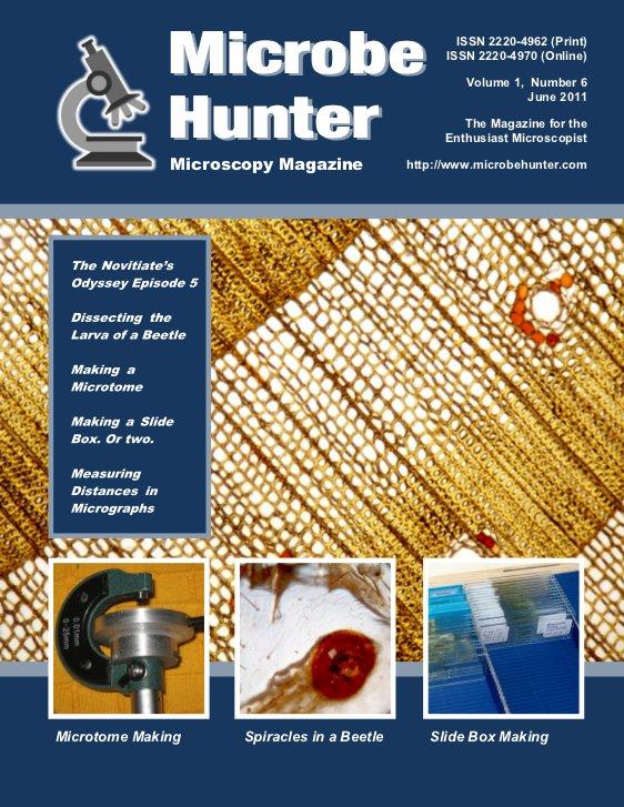 Microbehunter Microscope Magazine Cover