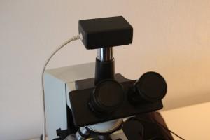 DIY microscope camera