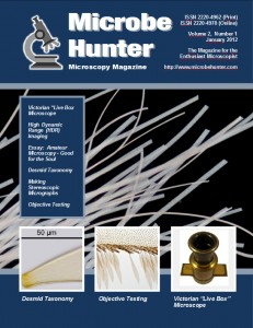 Microbehunter Microscopy Magazine cover