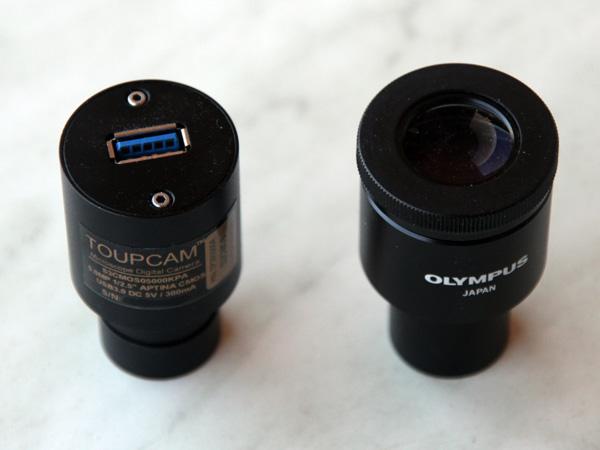 The Toupcam S3CMOS: A small USB 3 Microscope Camera \u2013 Microbehunter