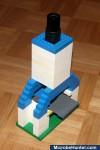 LEGO microscope assembled